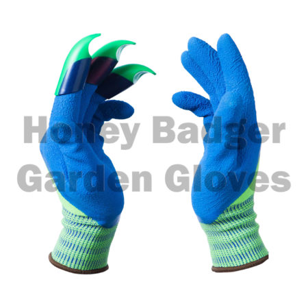 Badger-Green-Blue-Claws-Left-ed