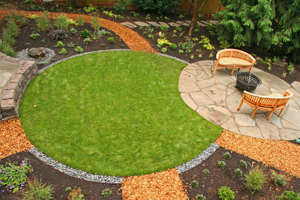 Garden design tips for Feng shui garden designs