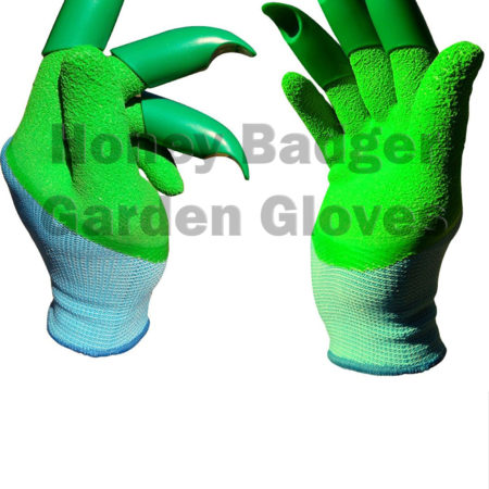 honey badger garden glove
