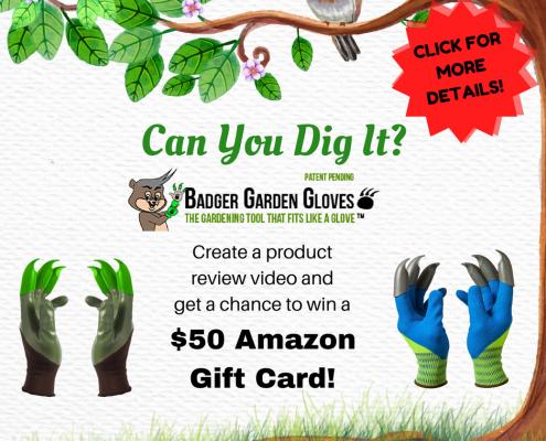 Honey Badger Gloves Spring Contest