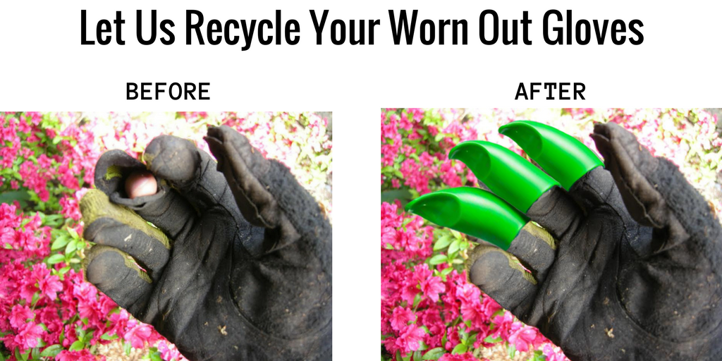 Let Us Recycle Your Worn Out Gloves Honey Badger Garden Gloves